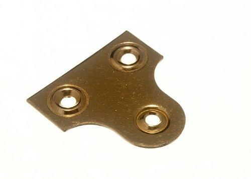 MI051 25MM MIRROR PLATE PLAIN EB (10)