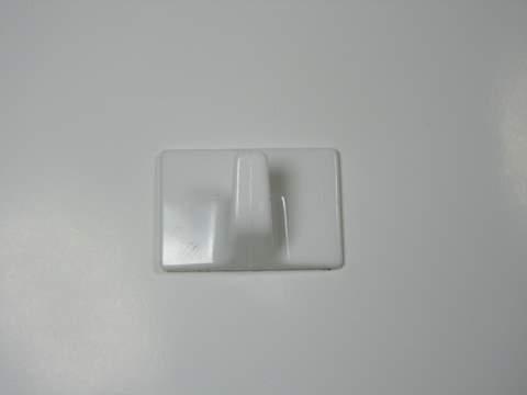 HO302 MEDIUM SELF ADHESIVE HOOK WHITE (5)