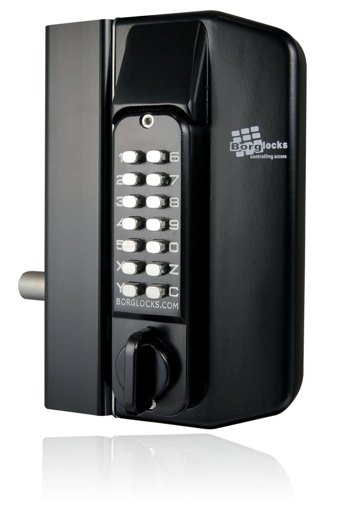 BL3100 BORG METAL GATE LOCK