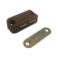 CA024B MEDIUM MAGNETIC CATCH BROWN