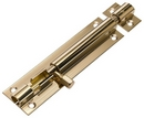 BO110 38MM DOOR BOLT BRASS