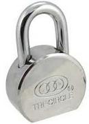 SE018 TRI-CIRCLE 65MM CAMEL PADLOCK