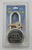 SE018LS TRI-CIRCLE 65MM CAMEL PADLOCK L/S