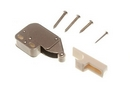 CA017W MINI TIP LATCH WHITE