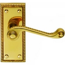 HA330 GEORGIAN LATCH HANDLE POLISHED BRASS