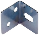 FF042 STEEL BRACKET 25MM X 25MM SLOTTED BZP